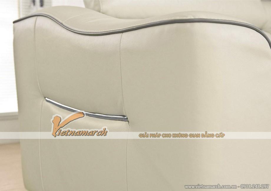 Mẫu ghế sofa góc chất liệu da American đẳng cấp - 04