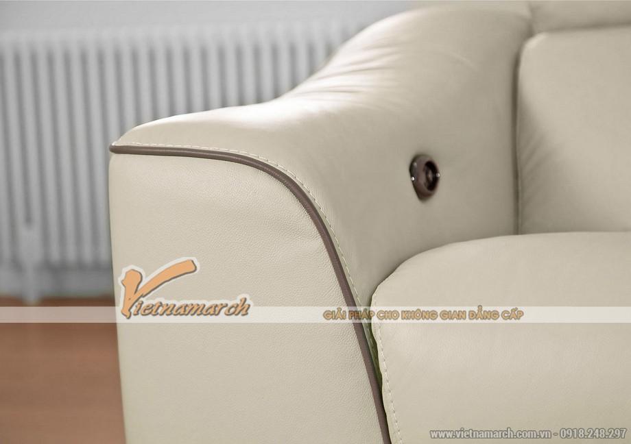 Mẫu ghế sofa góc chất liệu da American đẳng cấp - 06
