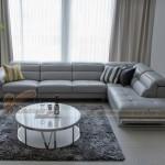 Mẫu ghế sofa góc trẻ trung sang trọng – Mã: SDG-017