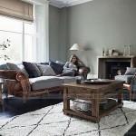 Mẫu ghế sofa thấp bọc da cổ điển nhập khẩu Ấn Độ – Mã: SDC-055