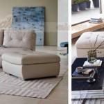 Bộ ghế sofa góc bọc da cao cấp dành riêng cho biệt thự – Mã: SDG-057