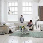 Bộ ghế sofa góc chất liệu da tính năng đàn hồi cực cao – Mã: SDG-056