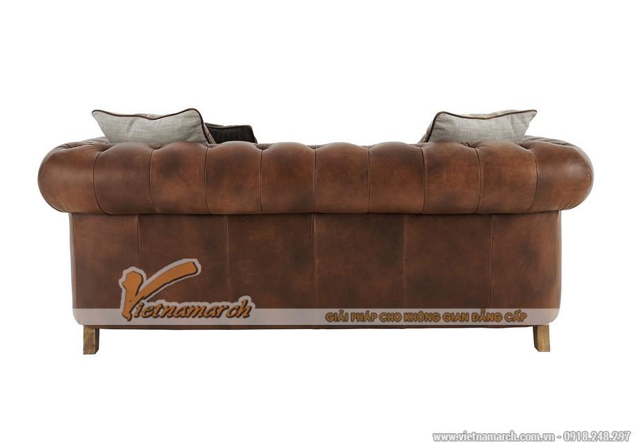 Mẫu ghế sofa văng da bò cao cấp - 05