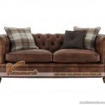 Mẫu ghế sofa văng da bò cao cấp cho giới thượng lưu – Mã: SDV-057