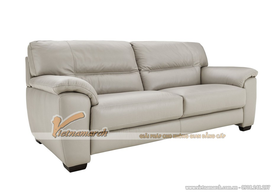 Mẫu ghế sofa văng giả da cực cuốn hút - 03