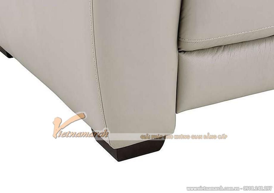 Mẫu ghế sofa văng giả da cực cuốn hút - 06