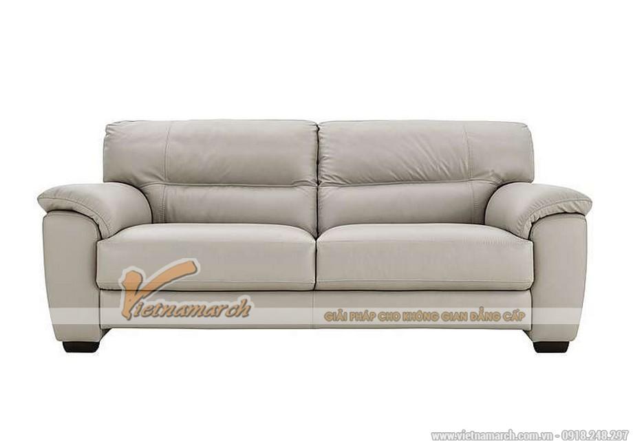 Mẫu ghế sofa văng giả da cực cuốn hút - 02