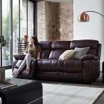 Mẫu ghế sofa văng chất liệu da thật cho phòng khách sang trọng nhập khẩu từ Ý – Mã: SDV-076