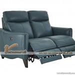 Mẫu ghế sofa văng da nhập khẩu Hàn Quốc kiểu dáng trẻ trung – Mã: SDV-055