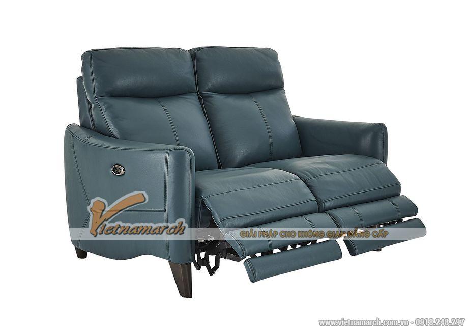 Mẫu ghế sofa văng da nhập khẩu Hàn Quốc kiểu dáng trẻ trung - 02