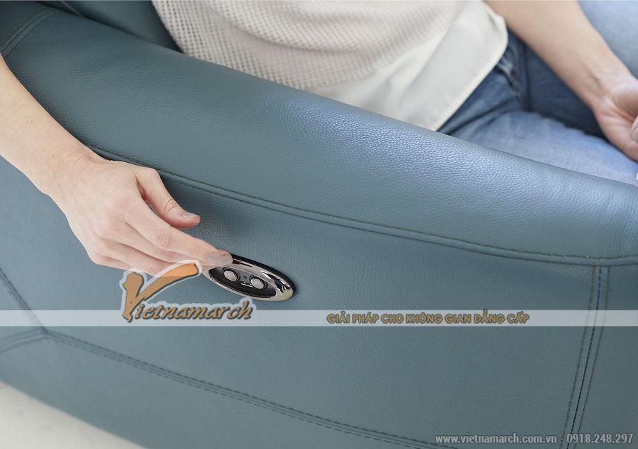 Mẫu ghế sofa văng da nhập khẩu Hàn Quốc kiểu dáng trẻ trung - 04