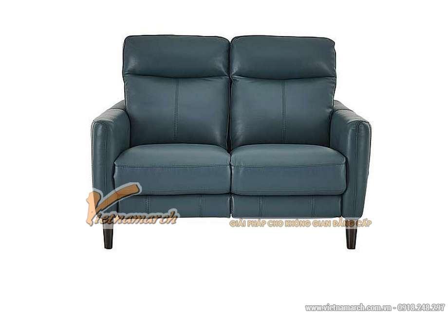 Mẫu ghế sofa văng da nhập khẩu Hàn Quốc kiểu dáng trẻ trung - 03