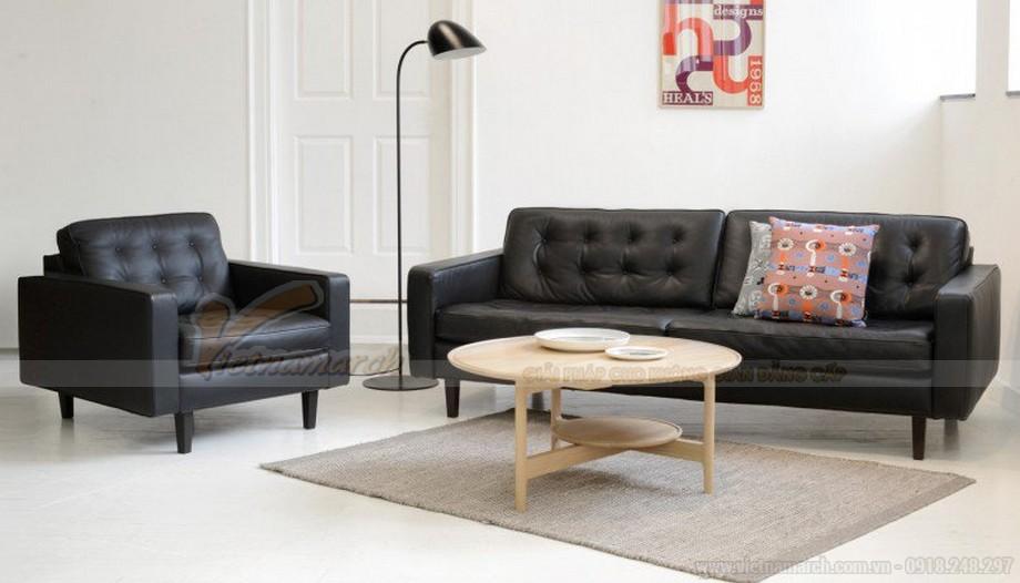 Chiêm ngưỡng bộ ghế sofa văng bọc da cao cấp Đàm Vĩnh Hưng cực đẹp