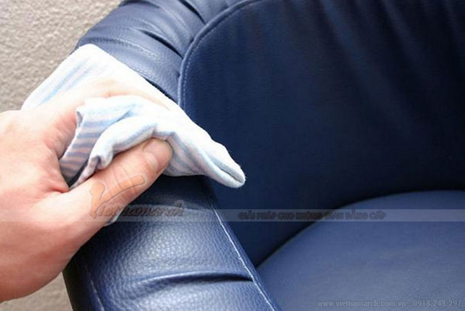 Cách vệ sinh ghế sofa da vô cùng hiệu quả, chất lượng nhất từ Vietnamarch