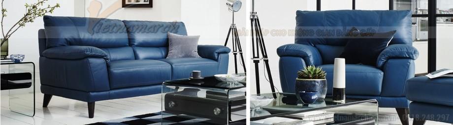 Mẫu ghế sofa văng hai chỗ ngồi da nhập khẩu từ Canada - 01