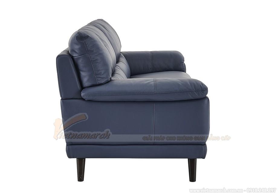 Mẫu ghế sofa văng hai chỗ ngồi da nhập khẩu từ Canada - 03