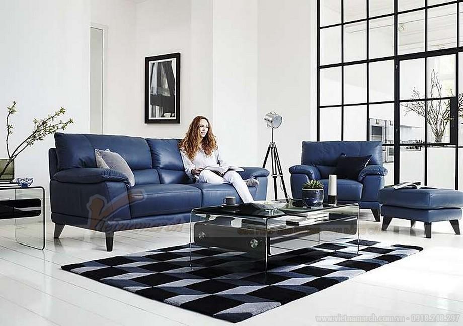 Tổng hợp các mẫu ghế sofa da nhập khẩu ấn tượng nhất hiện nay - 07