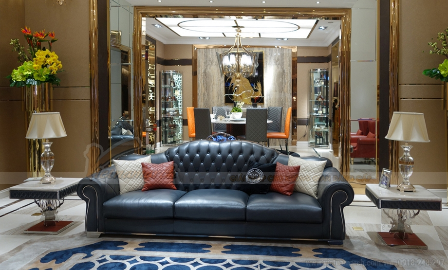 Tổng hợp các mẫu ghế sofa kiểu dáng Tây Âu sang trọng nhất 2016 - 07