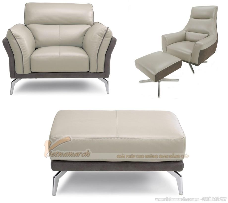 Chiêm ngưỡng những mẫu ghế sofa chân Inox sang trọng và đẳng cấp - 08