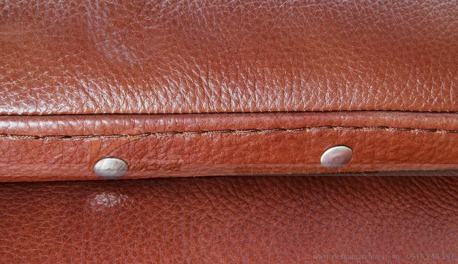 Nét độc đáo trong mẫu thiết kế ghế sofa góc chất liệu da bò 2016 - 03