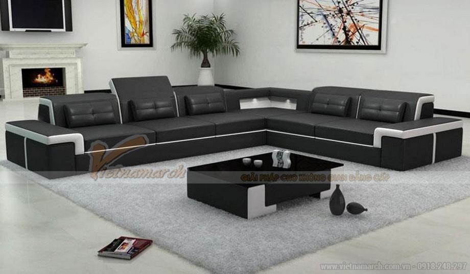 Sản phẩm sofa da cao cấp