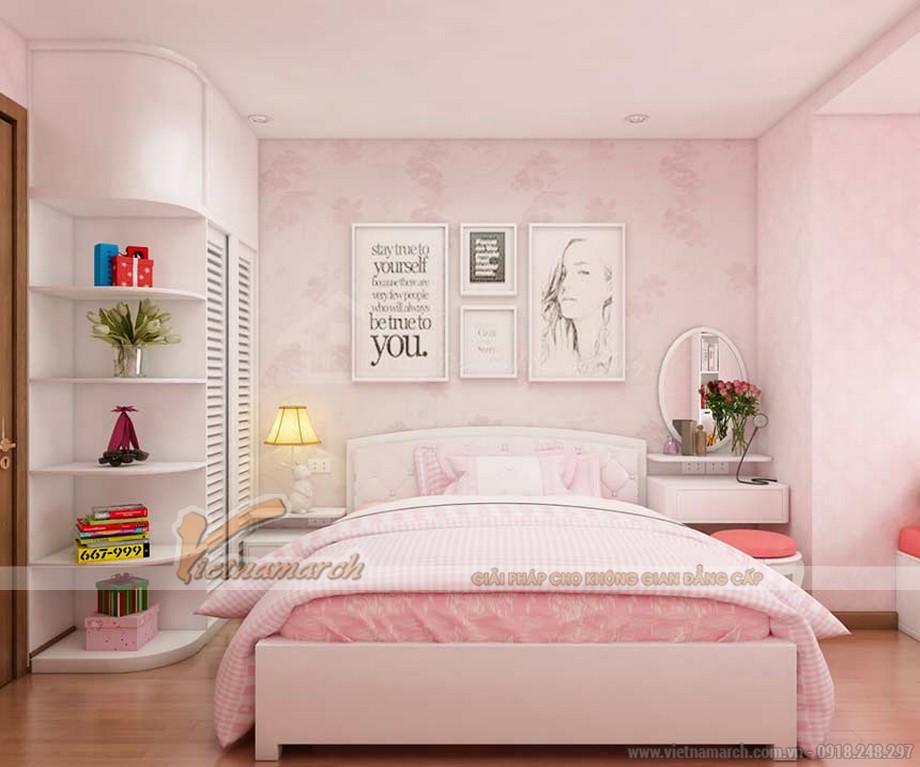 """Màu hồng đẹp mắt với thiết kế phòng ngủ lộng lẫy cho """"công chúa bé nhỏ"""" của gia đình chú Chung"""