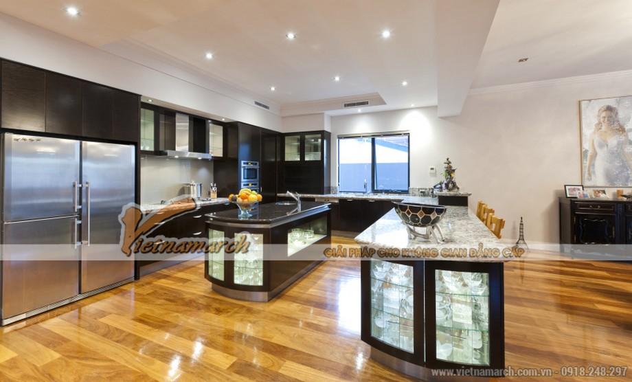 Độc đáo với thiết kế nội thất khu bếp tinh tế