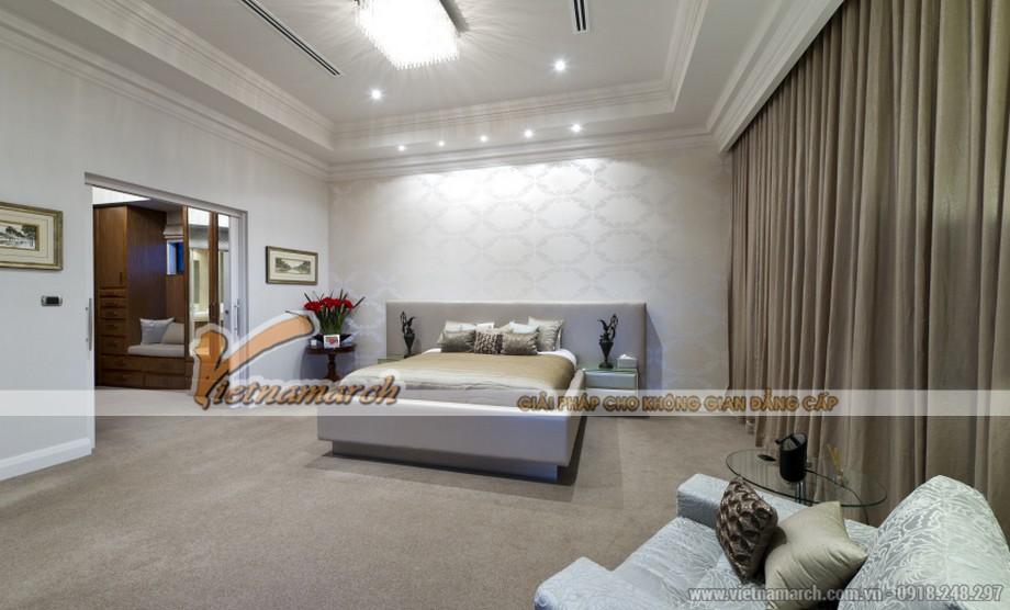 Nhã nhạn và thanh cao với thiết kế nội thất phòg ngủ đơn giản như xa xỉ