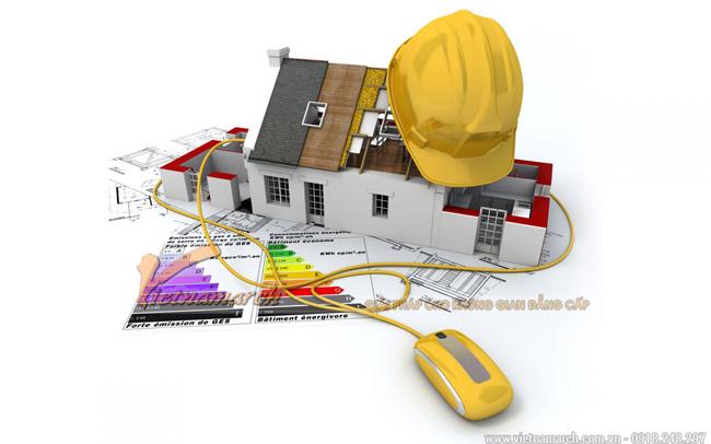 Kiến trúc sư là những người xây nhà trên giấy ( máy tính) cho bạn