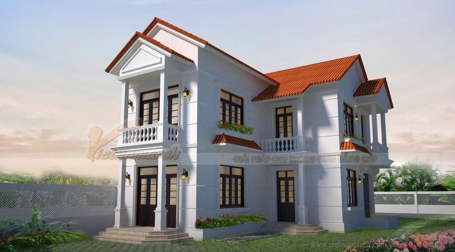 Các mẫu nhà đẹp 2 tầng cực kì ấn tượng tại Hải Phòng