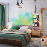 Tư vấn thiết kế nội thất chung cư cho căn hộ của một gia đình họa sỹ