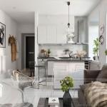 Thiết kế nội thất theo phong cách Scandinavian cho những căn hộ chung cư có diện tích nhỏ