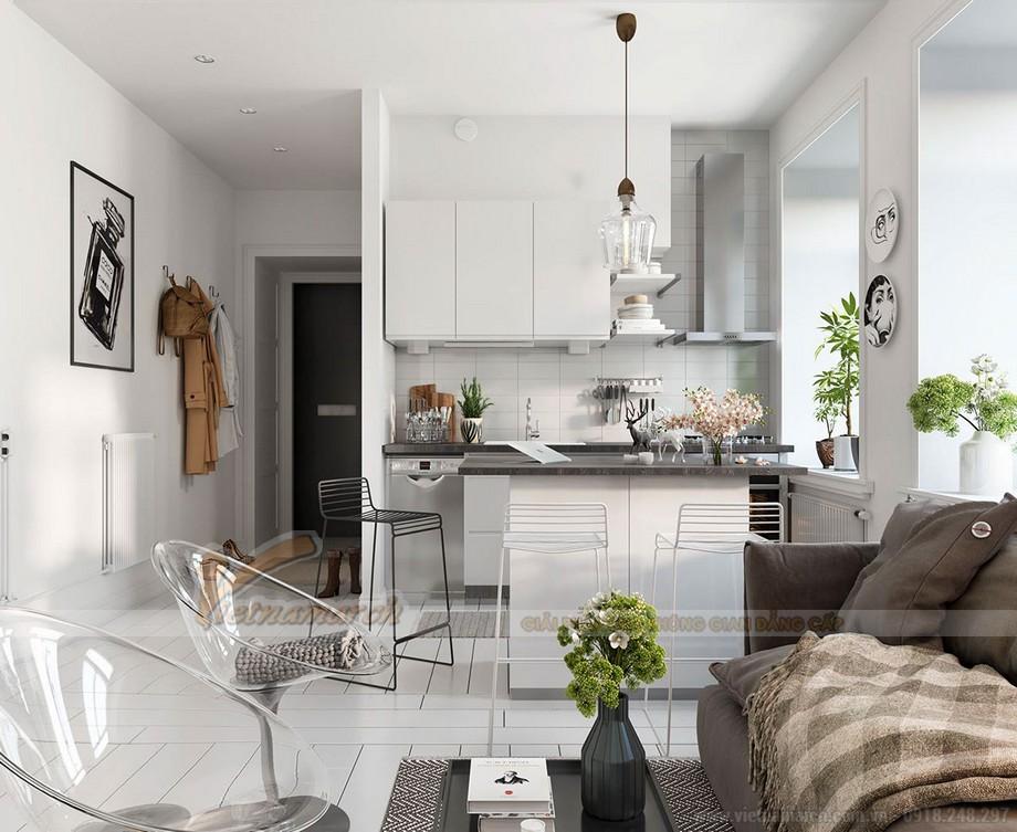 Thiết kế nội thất theo phong cách scandinavian