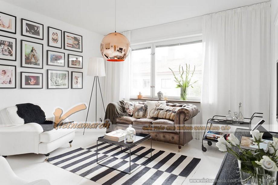 Nội thất không gian sống hoàn hảo với phong cách Scandivania