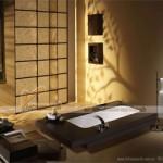 Thiết kế nội thất phòng tắm hiện đại với phong cách Nhật Bản