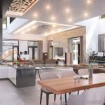 Tủ bếp đẳng cấp dành cho những gian bếp nhỏ tại WaterFront City