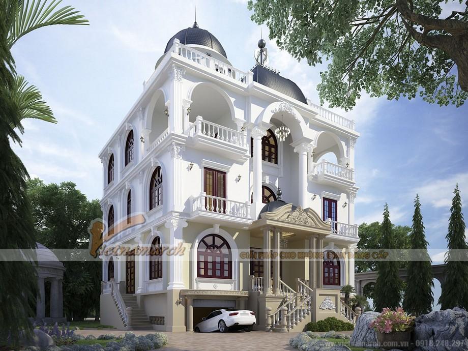 Mẫu biệt thự tân cổ điển mang phong cách của Tiểu vương quốc Ả Rập Thống nhất