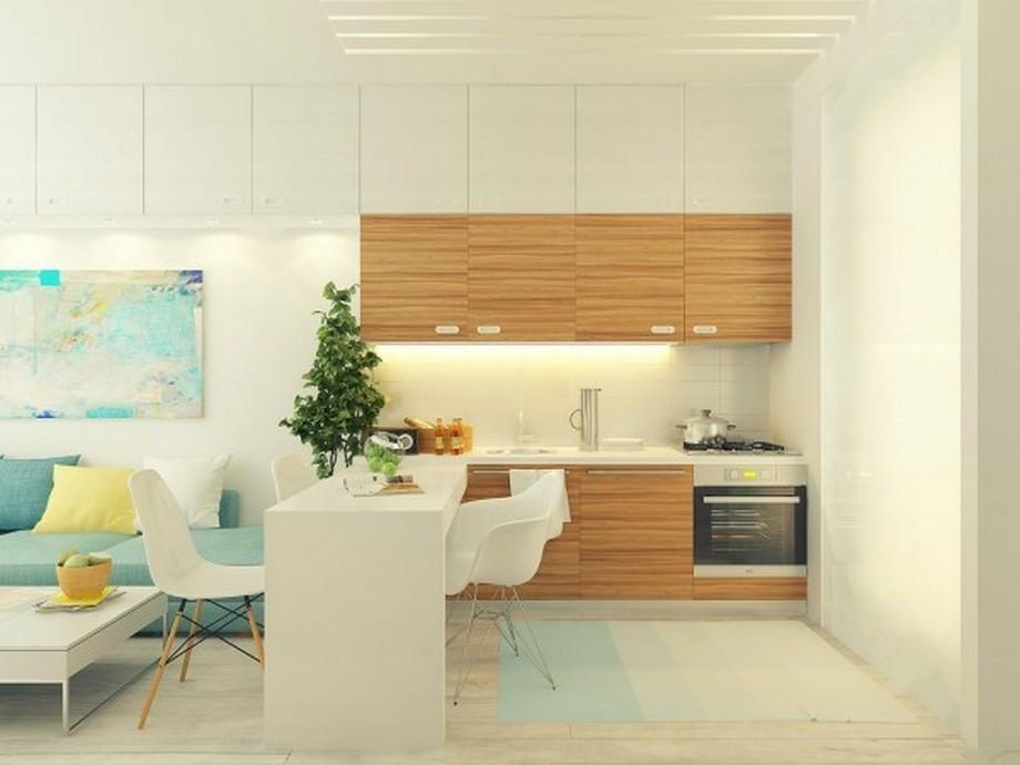 Sử dụng tông màu sáng sẽ làm căn hộ rộng hơn