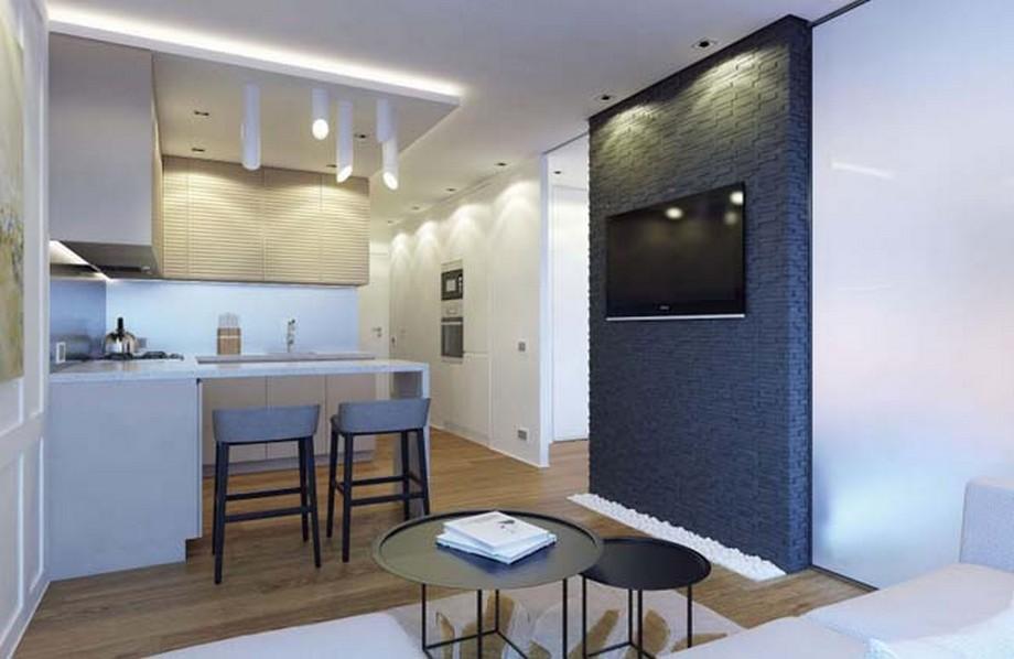 Phụ kiện đơn giản sẽ giúp căn hộ trở nên thoáng mát mà không bị rối mắt