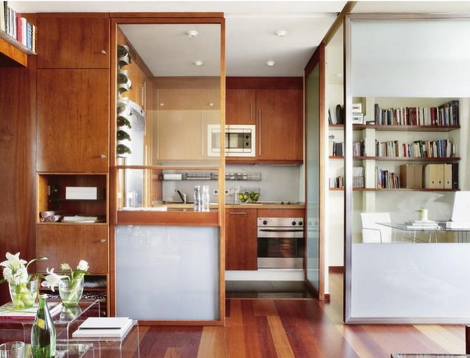 Đối với những căn hộ nhỏ thì việc sử dụng phân vùng không gian linh hoạt là sự chọn lựa tốt nhất