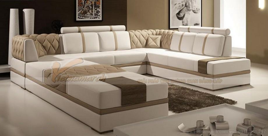 Cách bài trí ghế sofa phòng khách đẹp, khoa học - 01