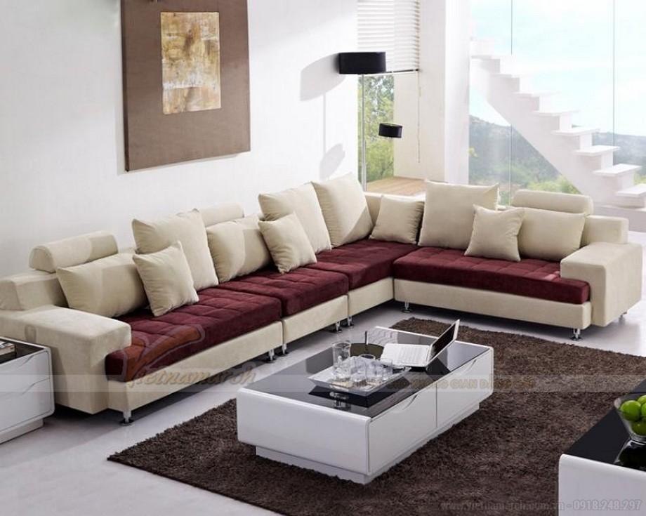 Cách bài trí ghế sofa phòng khách đẹp, khoa học - 02