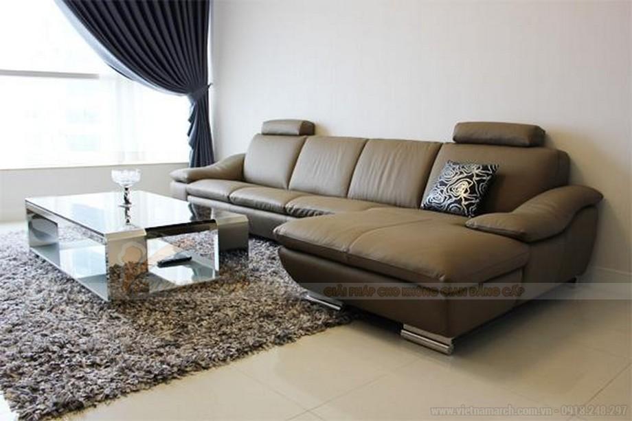 Cách bài trí ghế sofa phòng khách đẹp, khoa học - 03