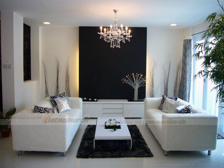 Cách bài trí ghế sofa phòng khách đẹp, khoa học - 04