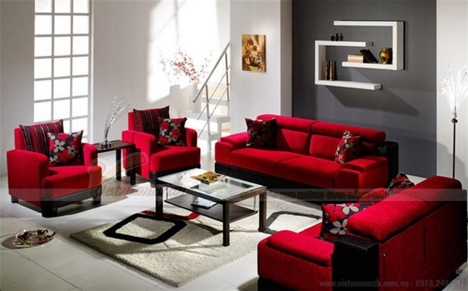 Cách bài trí ghế sofa phòng khách đẹp, khoa học - 05
