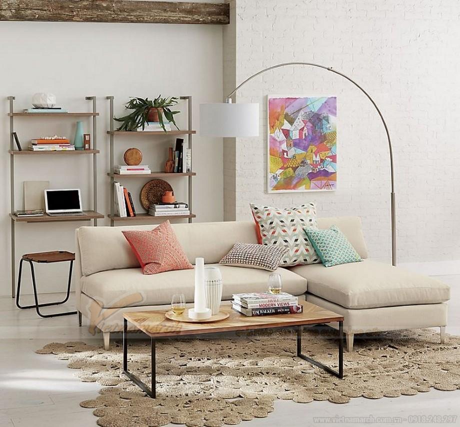 Cách lựa chọn ghế sofa phòng khách chung cư diện tích 15 - 20m2 - 02