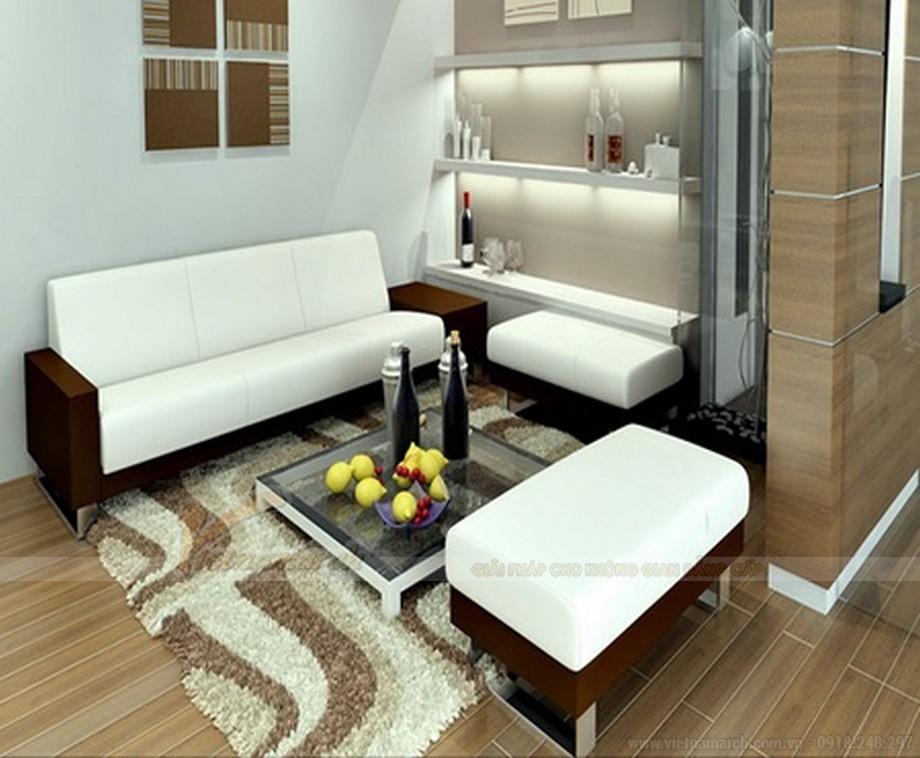 Cách lựa chọn ghế sofa phòng khách chung cư diện tích 15 - 20m2 - 08