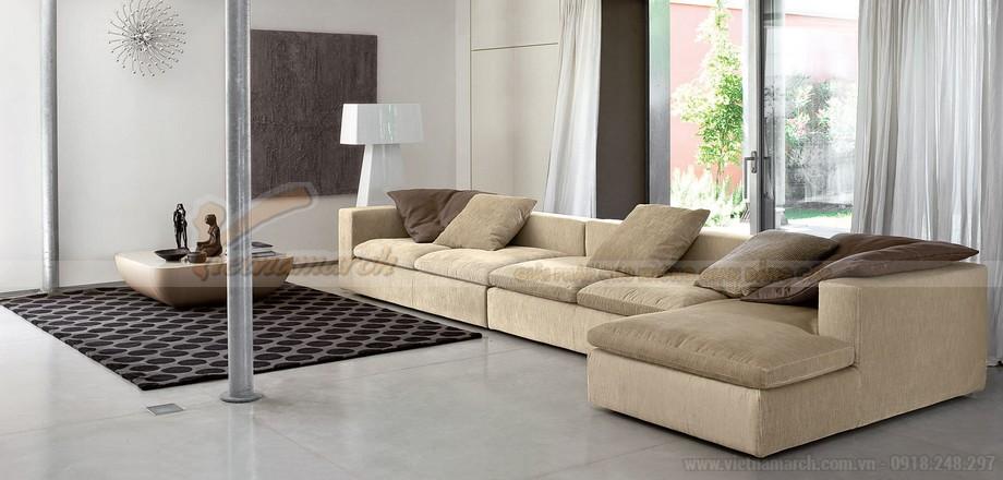 Tư vấn chọn ghế sofa phòng khách cho các kiểu chung cư khác nhau - 06