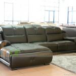 Mẫu ghế sofa da góc – Mã: DG01 – Không thể bị dung hòa bởi các yếu tố xung quanh