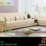 Mẫu ghế sofa da góc – Mã: DG-11